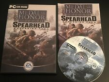 MEDAL OF HONOR ALLIED ASSAULT SPEARHEAD EXPANSION PACK  Pc Cd Rom MOH HONOUR