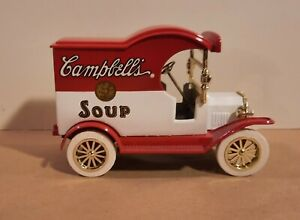 "Gearbox Die Cast Campbell's Soup Ford 1912 Model ""T"" Delivery Car Coin Bank"