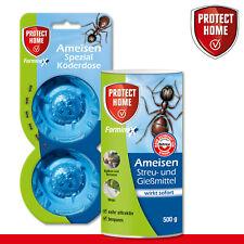 Protect Home 500g Forminex Fourmis Streu-& Gießmittel N+ 2Stk Boîte D' Appât
