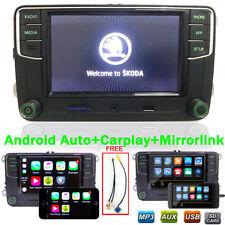 Autoradio RCD330+ pour VW SKODA Carplay Mirrolink Android Auto Bluetooth RVC USB