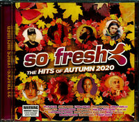 So Fresh the Hits of Autumn 2020 CD NEW Billie Ellish Camila Cabello Benee