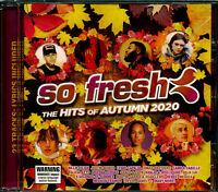 So Fresh the Hits of Autumn 2020 CD NEW Billie Ellish Camila Cabello Benee