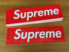 Supreme - Box Logo / Bogo - Sticker / Aufkleber - SS18 - NEU & ORIGINAL !