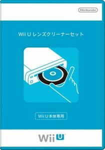 Nintendo Official Wii U Lens Cleaner w/ Cleaning Liquid Kit Set