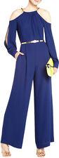 GORGEOUS NEW BLUE BCBG MAX AZRIA 'FLO' JUMPSUIT (NWT)