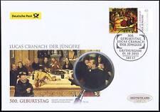 BRD 2015: Lucas-Cranach-Gemälde Post-FDC der Nr. 3181 mit Berliner Stempel! 1612