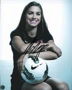 Alex Morgan 8x10 Autographed Photo COA Co-Captain US Womens National Team