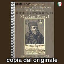 libri antichi di alchimia magia stregoneria esoterismo occultismo nicolas flamel