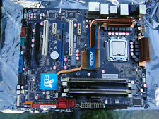 ASUS P5Q Deluxe Socket 775 Motherboard / Intel Q6600 CPU  / Backplate Tested