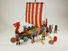 PLAYMOBIL 3150 Viking Long Ship Figures