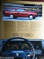 """1980 Toyota Corolla  SR 5 Sports Coupe Original Print Ad 8.5 x 10.5"""""""
