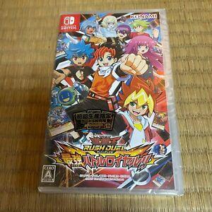 Nintendo Switch Yu-Gi-Oh! Rush Duel Saikyou Battle Royale (3Cards Set) NEW