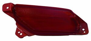 FIT FOR AC. MDX 2014 2015 2016 REAR BUMPER REFLECTOR LAMP RIGHT PASSENGER