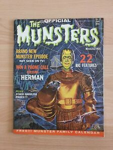 Famous monsters/ Monster Magazine The Munsters 1965 one shot