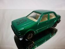 CHINA MC TOY PEUGEOT 309 5 DOOR - GREEN 1:60? - GOOD CONDITION