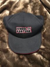 Wheel Of Fortune Taping Pass Hat Black Red SnapBack New