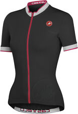 Castelli Perla Women's Short Sleeve Cycling Jersey Black Size Small