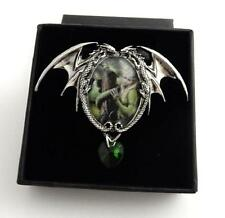Anne Stokes Enchanted Cameos necklace Kindred Spirits dragon art work Licensed