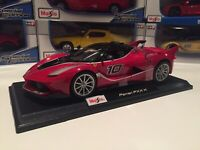 Ferrari FXX K - Red Race Car #10 : Die Cast Maisto Special Edition 1:18 scale