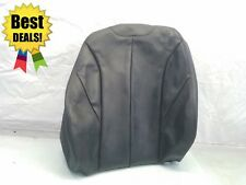2013 2014 2015 BMW F30 328i FRONT RIGHT SEAT BACKREST SKIN - BLACK LEATHER