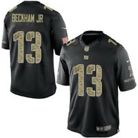 Odell Beckham Jr New York Giants Salute to Service STS Nike Stitched Jersey Men