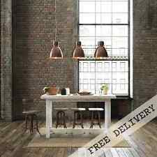 Rustic Wooden Kitchen Island Counter Height Cafe Bar Bench Dining Table in White