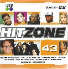 DANCE CD ALBUM 538 HITZONE + DVD - 43 - GUUS MEEUWIS MAROON 5 , 50 CENT