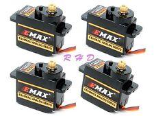 4x EMAX ES08MA II 12g/ 2.0kg Mini Metal Gear Servo high-speed Upgrade mg90 s