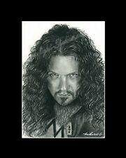 Dimebag Darrell Pantera rock band drawing art picture Image