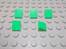 Lego 5 Dachsteine hellgrün 1x1 30 Grad 50746 o.  54200 Set 79003 4432 4206 3817