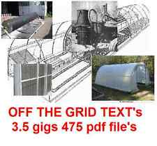 Living off the Grid solar water greenhouse Prepper home survival garden B60