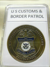 US CUSTOMS AND BORDER PATROL Challenge Coin