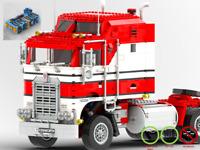 1978er Kenworth Truck - LKW MOC - PDF Bauanleitung - kompatibel mit LEGO Steine