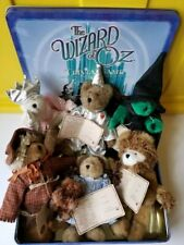 rf Wizard Of Oz Boyds Bears Plush Retired 6 Pc Set Ornaments, Never Used/Tags On