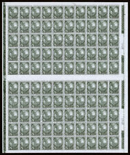 Mexico Scott 698 (1934) Natl. University Issue 5c Dark Green Sheet, Mint NH VF C