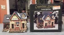 CHRISTMAS VILLAGE HOUSE - COPPERFIELD KEEPSAKE FOREST RANGER LIGHTED HOUSE