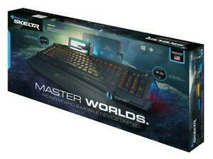 ROCCAT SKELTR- RGB Gaming Keyboard (Dual USB+Bluetooth),Black(NEW) ROC-12-231-BK