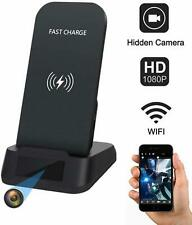 Spy Camera WiFi Hidden Security Cam with Wireless Phone Charger Kaposev 1080P