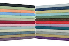 Victoria Valenti 1800 sheet set King, Cal King, Queen, Full, double brushed 6pc