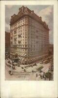 New York City Hotel Manhattan c1910 Postcard