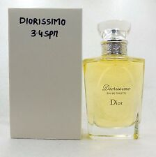 DIORISSIMO BY CHRISTIAN DIOR EAU DE TOILETTE SPRAY 100 ML / 3.4 FL.OZ. NEW (T)