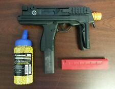 Refurbished MP9 airsoft aeg kit. Includes spare magazine and 2000rd bbs