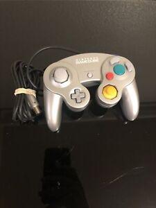 Official OEM Nintendo Gamecube Controller Silver Platinum Tested Works!!!!! L1