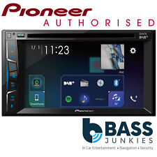 "Pioneer AVH-A3200DAB 6.2"" Double Din DAB Bluetooth iPhone Android AV Car Stereo"