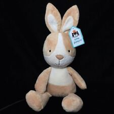 Jellycat Caramel Bunny Plush Soft Toy Rabbit Beige Brown Comforter Stuffed New