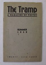 Literature Poems The Tramp Magazine of Poetry William Saroyan Witter Bynner 1939