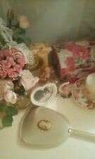 Vintage victorian cameo vanity dressing table mirror
