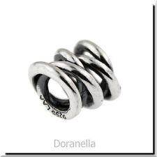 Authentic Trollbeads Sterling Silver 11317 Three Siblings, Silver :0