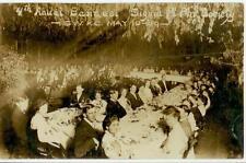 May 10, 1909 Sigma Pi Phi Society 4th Annual Banquet Real Photo SW Kansas City