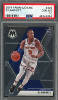 RJ Barrett New York Knicks 2019 Panini Mosaic Basketball Rookie Card #229 PSA 10